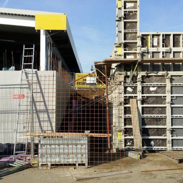31.1.2014 – Baustelle neue Werkstätte und Heizhaus