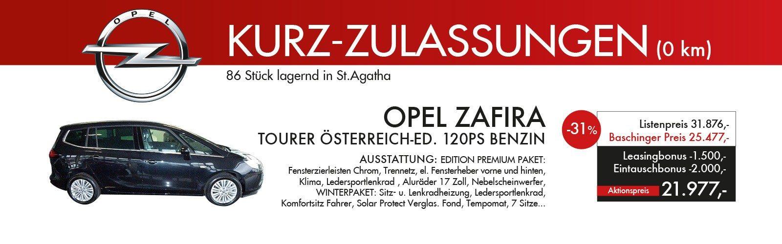 ZAFIRA bei Ing. Günther Baschinger GmbH in