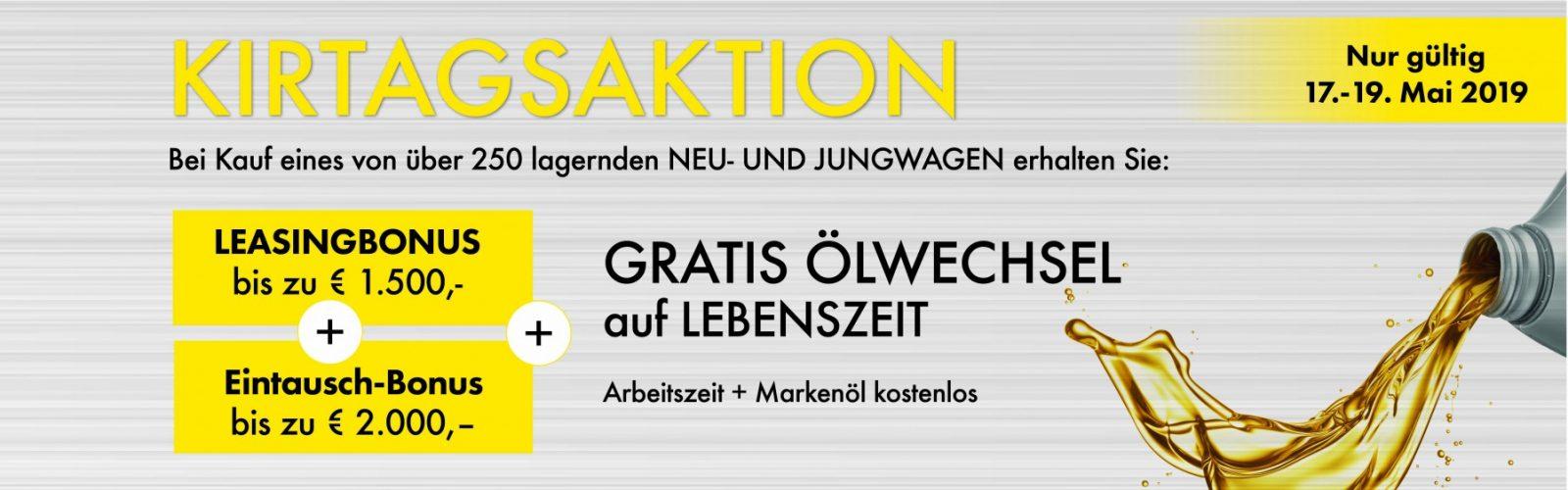 Kirtagsaktion bei HWS || Ing. Günther Baschinger GmbH in