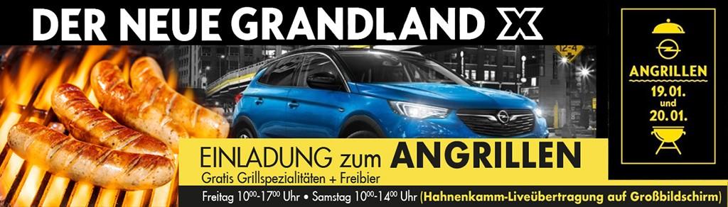 Opel Angrillen am 19.01 und 20.01 bei HWS || Ing. Günther Baschinger GmbH in