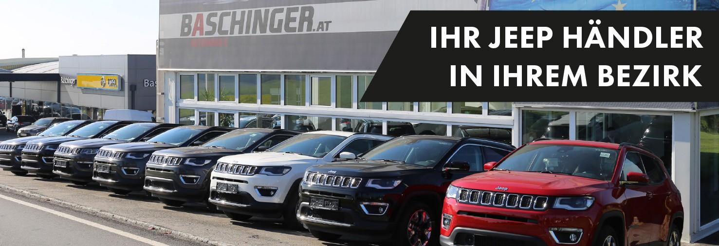 Jeep bei HWS || Ing. Günther Baschinger GmbH in