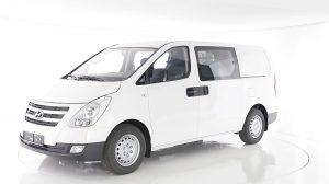 Hyundai H-1 Doppelkabine 6 Sitzig H-1 2.5 D AT-170 6-Sitzer Flügeltür CD Klima shzg Comf.Pac bei HWS || Ing. Günther Baschinger GmbH in
