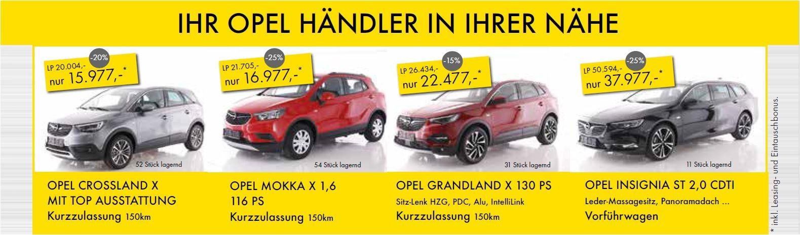 Opel Gewerbeschau 2018 bei HWS || Ing. Günther Baschinger GmbH in