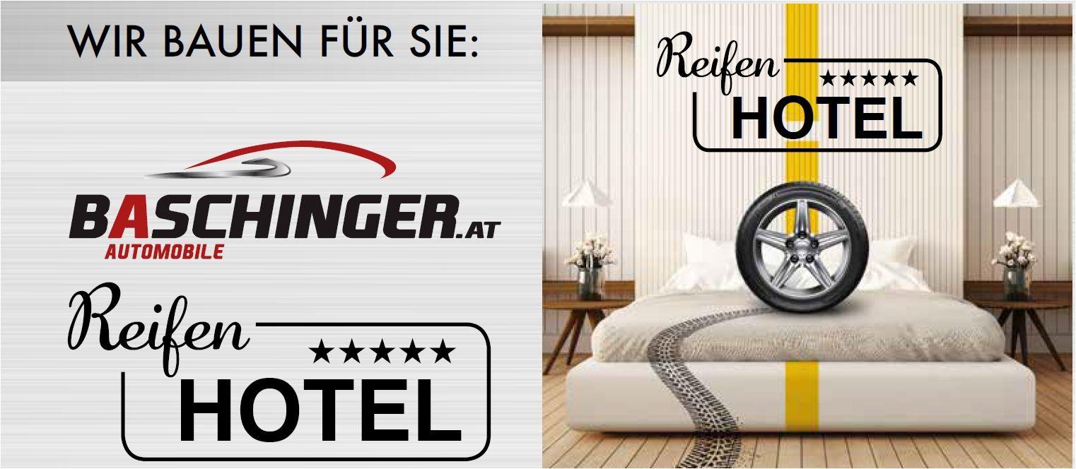 Reifenhotel Gewerbeschau 2018 bei Ing. Günther Baschinger GmbH in