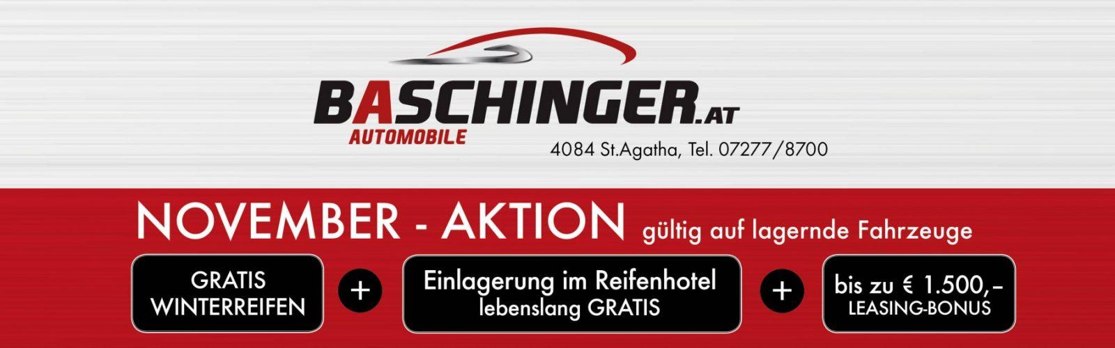 Verkauf November 2018 Aktion bei HWS || Ing. Günther Baschinger GmbH in