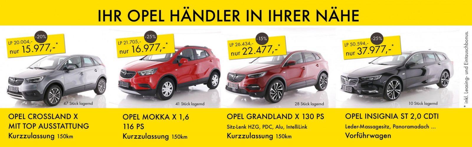 Opel November 2018 Aktion bei HWS || Ing. Günther Baschinger GmbH in