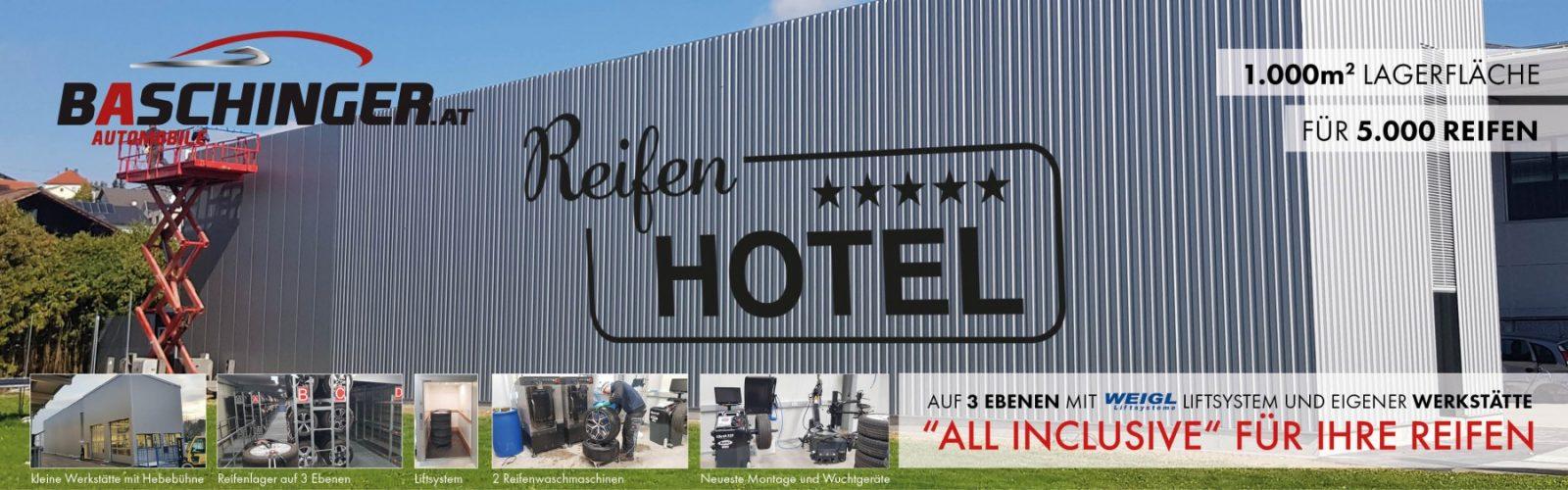 NEU ab November ! DAS 5* Reifenhotel für 5000 REIFEN mit Reifenwaschmaschine und Lift bei HWS || Ing. Günther Baschinger GmbH in