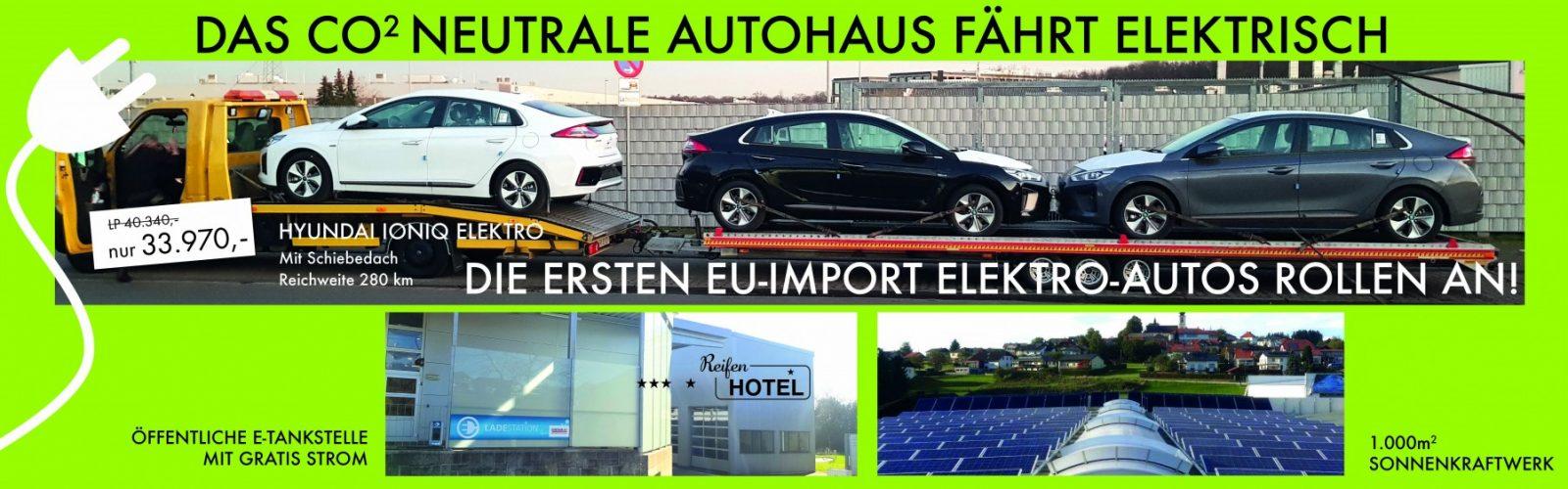 Elektroauto bei HWS || Ing. Günther Baschinger GmbH in