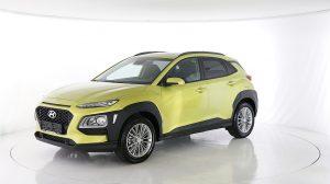 Hyundai Kona 1.0 s&s P.dach Navi Sound.sys Klimaaut alu17 R.cam/P.sen shz bei HWS || Ing. Günther Baschinger GmbH in
