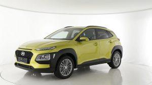 Hyundai Kona 1.0 s&s P.dach Navi Sound.sys Klimaaut alu17 R.cam/P.sen shz bei Ing. Günther Baschinger GmbH in
