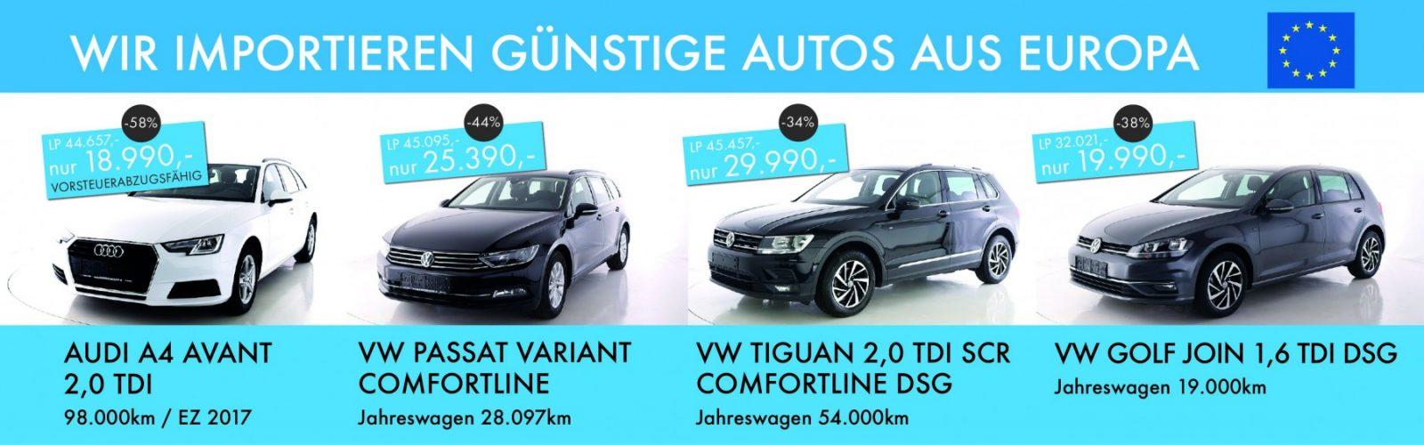 AUdi VW Okt 2020 bei Ing. Günther Baschinger GmbH in