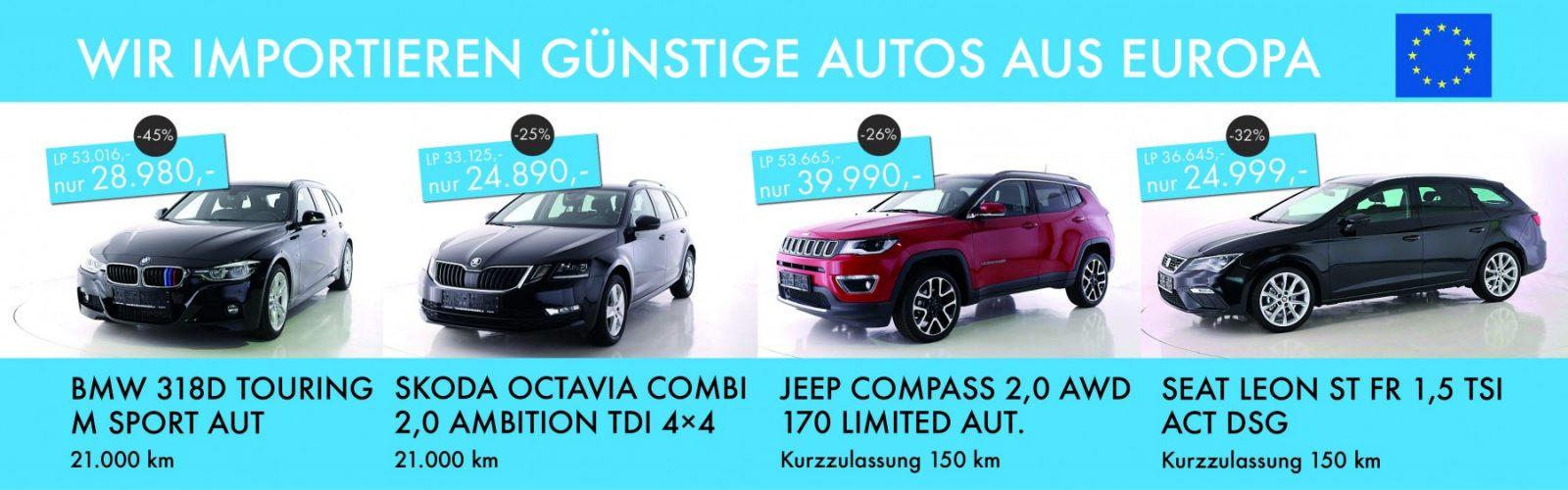 BMW SKODA JEEP SEAT OKT 2020 bei Ing. Günther Baschinger GmbH in