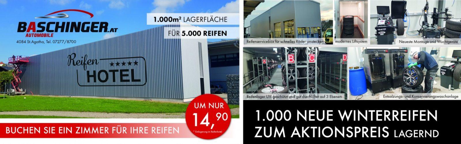 Reifenhotel Winter bei Ing. Günther Baschinger GmbH in