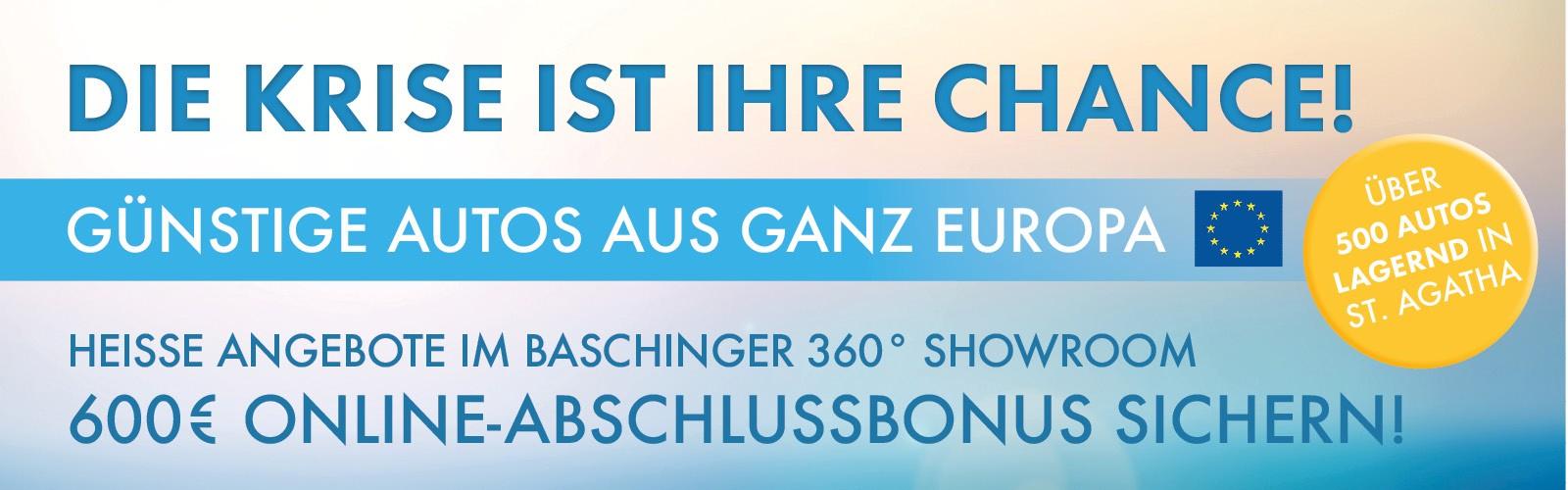Die Krise ist Ihre Chance bei Ing. Günther Baschinger GmbH in